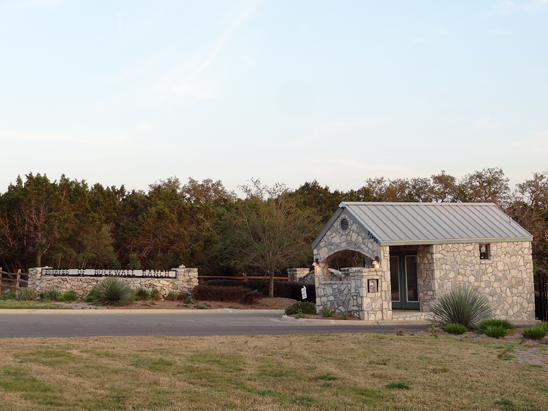 rockwall ranch hill country home