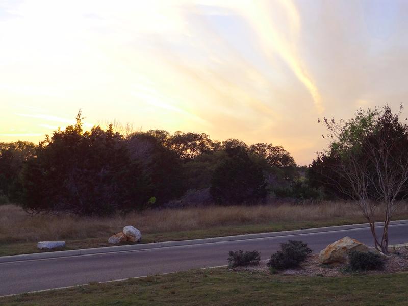 rockwall ranch sunset